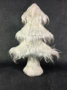 SM WHITE ICE FUR TREE