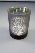 MULBERRY TREE TEALIGHT IN SILVER