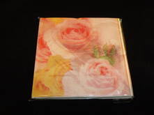 PALE PINK ROSE NAPKINS