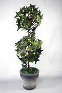 IVY DOUBLE BALL TOPIARY